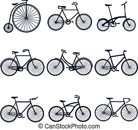bicycles, iconen