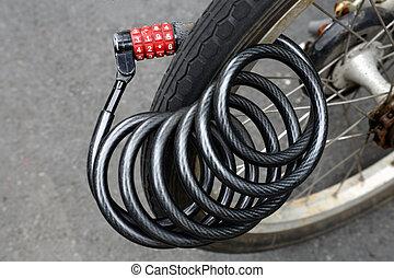 bicycles  lock