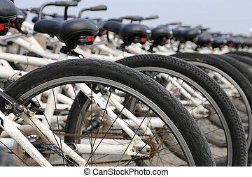 bicycles, roeien