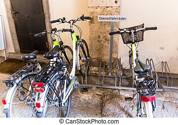 bicycles, service