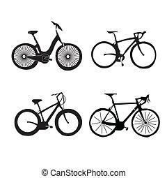 bicycles, set