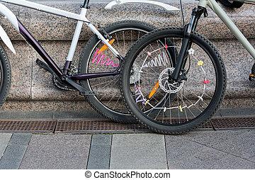 bicycles, upiększenia