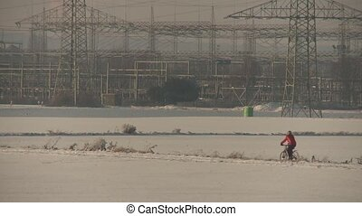 Bicyling in Winter