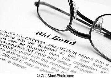 bieden, obligatie