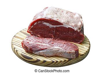 biefstuk, rauwe