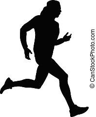 biegacz, atleta, mężczyźni