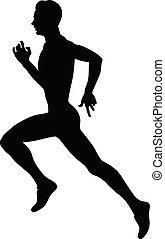 biegacz, profesjonalny atleta, wyścigi
