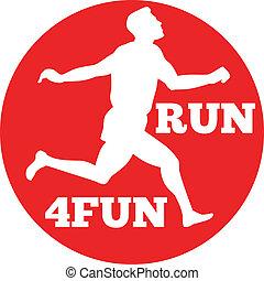 biegacz, wyścigi, prąd, maraton