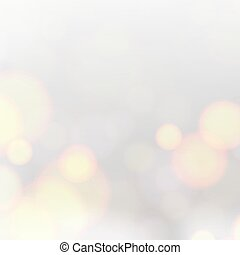 Biege bokeh abstract light background. Abstract shining space futuristic background. Fasion gray background.