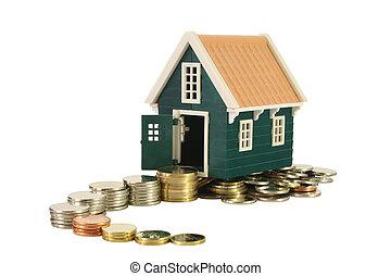 biegende straße, zu, homeownership