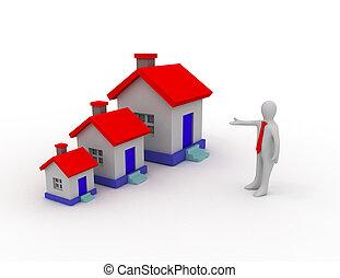 bienes raíces, concepto