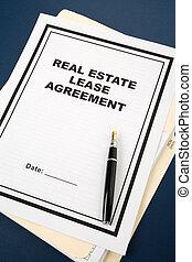 bienes raíces, contrato, arriendo