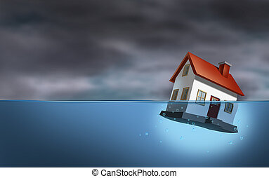 bienes raíces, crisis