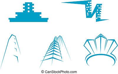 bienes raíces, símbolos