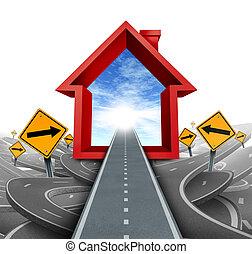 bienes raíces, servicios