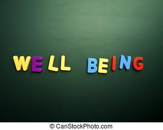 bienestar, concepto