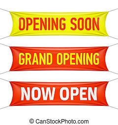 bientôt, ouverture, grandiose
