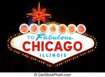 bienvenida, chicago