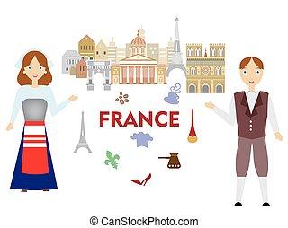 bienvenida, francia