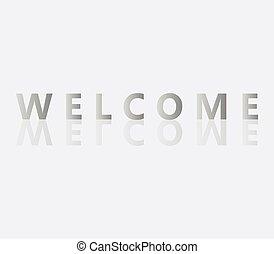 bienvenida, palabra