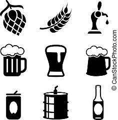 bier, heiligenbilder
