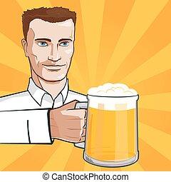 bier, man