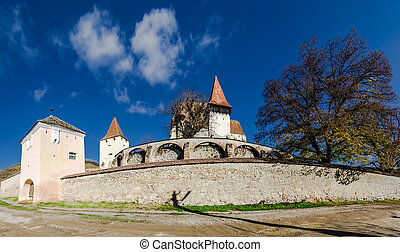 Biertan fortified church, Transylvania - Biertan is one of...