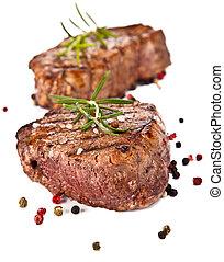 bifteck, boeuf