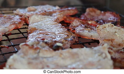bifteck, grillade
