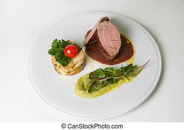 bifteck, mignon, boeuf