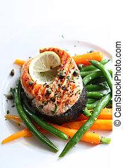 bifteck saumon