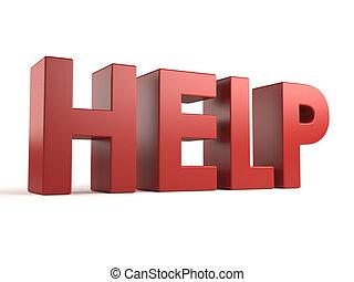 big 3d word - help