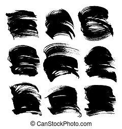 big abstract handdrawn strokes