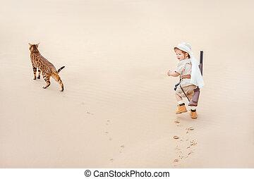 Big advantures in desert