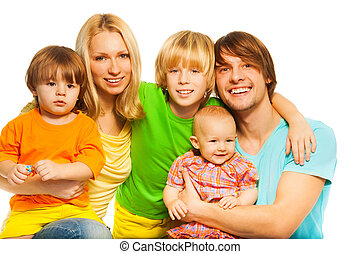 Big and happy family