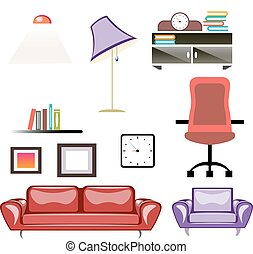 Big apartment furniture set