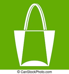 Big bag icon green