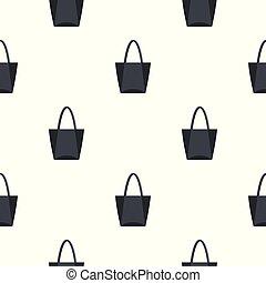 Big bag pattern seamless