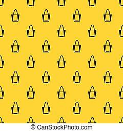 Big bag pattern vector