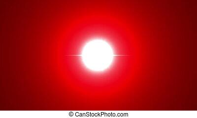 Big Bang Red Energy - Big bang explosion simulation