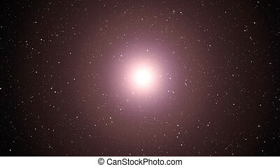 Big Bang. Supernova. The birth of the universe.