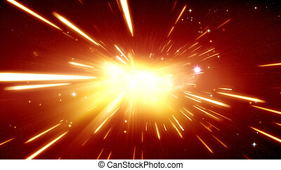 Big bang theory - Big Bang background