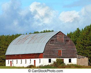 Big Barn in Michigan