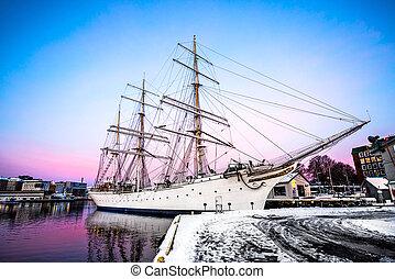 big beautiful ship