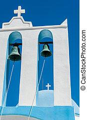 Big bells tower in Naxos