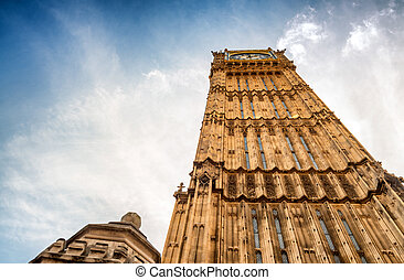 Big Ben and Houses of Parliament - London, UK