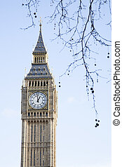Big Ben and the Houses of Parliament, Westminster, London