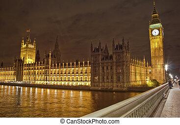 Big Ben and the Parliament, London, UK