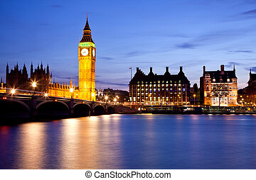 Big Ben and Westminster Bridge