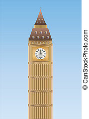 big Ben - Big Ben in London England